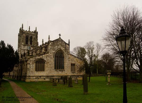 St Mary's church, Tadcaster.